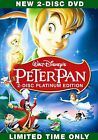 Peter Pan (DVD, 2007, 2-Disc Set, Platinum Edition) New Sealed! FREE SHIPPING!!!