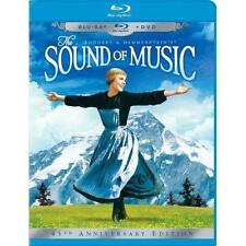 Sound of Music ( 3-Disc 45th Anniversary Blu-ray/DVD Combo in Blu-ray Pack ) NEW
