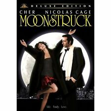 MOONSTRUCK CHER NICHOLAS CAGE DVD DELUXE EDITION WS NEW