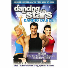 DANCING WITH THE STARS CARDIO DANCE . 4 Dances ++ - FF NR .. FAST SHIP