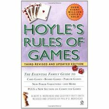 Hoyle's Rules of Games: Descriptions of Indoor Games of Skill and Chance, with A