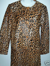 NWT Kate Spade Madison Ave Leopard Evi Coat Sz 12 NEW Rare Haircalf Leather