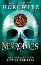 ANTHONY HOROWITZ _ NECROPOLIS _ THE POWER OF FIVE __ SHOP SOILED __