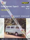 GREGORYS WORKSHOP REPAIR MANUAL VW KOMBI VAN TRANSPORTER 1700 1800 2000 73-81