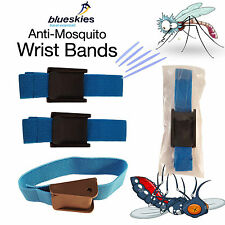 Anti Mosquito Wrist Band DEET Repellent Travel Bands Fly Insect Travel