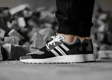 """New SS16 ADIDAS Y3 Pure Boost ZG Knit """"Monochrome"""" Trainers Sneakers, UK 6-12"""