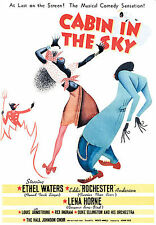 Cabin in the Sky (DVD, 2006) OOP Lena Horne  Louis Armstrong  NEAR MINT