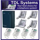 Panasonic KX-TDA15 Hybrid IP telephone system, 8 phones, Installation available.