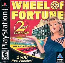 Wheel of Fortune 2nd Edition (Sony PlayStation 1, 2000) disc only