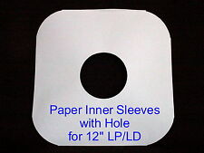 (50)  20# Paper Inner LP/LD record album sleeves covers