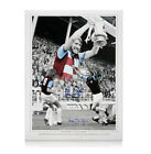 West Ham photo signed by Billy Bonds & Alan Taylor