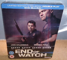 END OF WATCH LIMITED EDITION STEELBOOK BLU-RAY .