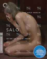 Salo, or the 120 Days of Sodom [Criterion Collection] [Blu-ray] NEW in Shrink