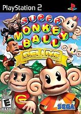 Super Monkey Ball Deluxe Playstation PS2 COMPLETE - FREE SHIPPING EXCELLENT GAME