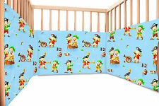 Les pirates - SoulBedroom Coton Tour de lit bébé 60x120 ou 70x140 cm