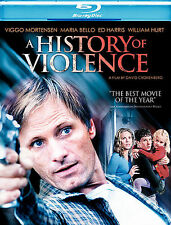 A History of Violence (Blu-ray Disc, 2009, Final Cut) New