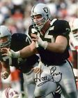 HOWIE LONG LA RAIDERS Signed reprint Photo 8x10