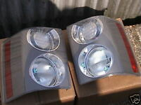 RANGE ROVER GENUINE SUPERCHARGED - BRAND NEW SET OF REAR LIGHTS