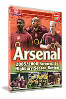 Arsenal Fc End Of Season Review 2005/2006 [DVD]  NEW SEALED FREEPOST