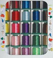Exquisite Popular Embroidery Thread Set 1100 yd New!