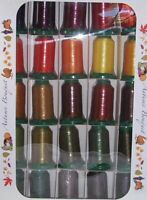 Exquisite Autumn Embroidery Thread Set 1100 yd New!