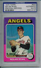 Nolan Ryan 1975 Topps #500 Signed Autographed Card PSA DNA 82014157