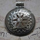 Egyptian Bedouin-Silver Pendant Charm-Ethnic middle eastern-African style