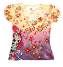Girls Genuine ED HARDY KIDS T-Shirt Size 4-5- NEW WITH TAGS- AWESOME