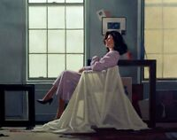 Jack Vettriano - Winter Light and Lavender - Erotic - Professionaly  Framed