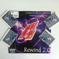 David Blaine/dynamo/rewind Torn And Restored Card Magic Trick