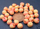 1:12 Scale 6 Pink Lady Apples Dolls House Miniature Food Fruit Kitchen Accessory