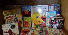 L0T/20 ELMO BOOKS, AMAZING HUGE COLLECTION OF ELMO!