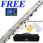 Cecilio 2Series FE-280S Silver Plated C FLUTE +$39Tuner