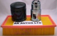 FITS TOYOTA AVENSIS 2.0 TD 98-00 3PC SERVICE KIT OIL AIR & DIESEL FUEL FILTER