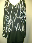 Never Enough by Iris Simms Knit Dot Print Cardigan XL