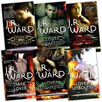 Black Dagger Brotherhood by J.R Ward First 6 books Set