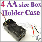 1 x 4 AA 2A Cells Battery (6V) Clip Holder Box Case C1