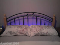 "BEDROOM AMBIENT MOOD LIGHTING - 4'6"" DOUBLE BED SIZE"
