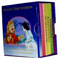 Sleepy Time Stories Pocket Library 6 Board Books Set