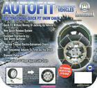 Snow Chains 4x4 4wd SUV 14 15 16 Inch Wheels New 370
