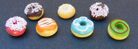 1:12 Scale Donuts Dolls House Miniature Food Bakery Kitchen Cakes