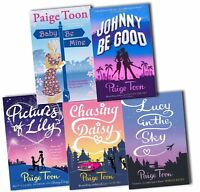 Paige Toon Collection 5 Books Set Pack Baby Be Mine New
