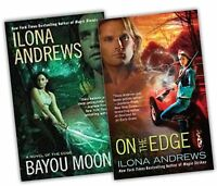 Ilona Andrews Edge Novels 2 Books Collection Pack Set