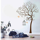 Tree Birds Cage Nature Vinyl Wall Paper Decal Art Sticker Q102