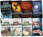 Karin Slaughter Collection Grant County 8 Books Set Pack Broken, Undone New