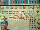 2 X STICKER CLUB VALUE PACKS,TEACHERS AID, KIDS,SCHOOL,PARTY FAVOUR