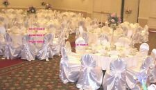 100 Universal Satin Chair Covers ~Wedding~