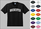City of Rochester College Letters T-shirt
