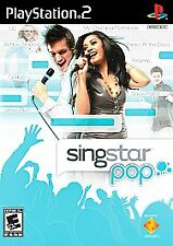 Sony PlayStation 2 SingStar Pop Game Only **Be a Pop Superstar** Brand New