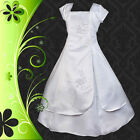 Wedding Flower Girls Bridesmaid Party Communion Dress Up Size 2-12 FG011J